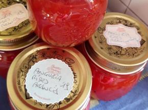 Confettura di anguria, ribes e arancia