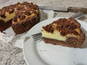 Russischer zupfkuchen - la cheesecake tedesca  (sfida speciale con ciobar)