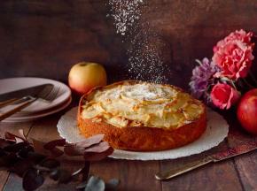 Torta di mascarpone e mele
