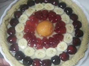 Crostata con frutta di stagione