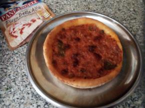 Pizza alta tonda