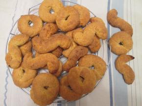 biscotti con lo zucchero di canna