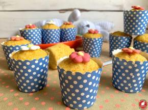 Mini muffins alle carote e mandorle
