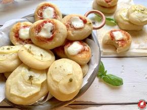 Pizzette morbide per buffet