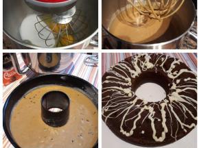 Ciambella al caffè e cacao