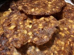 Biscotti al croccante di avena e arancia