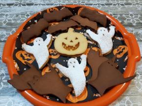 [Sfida Culinaria] HALLOWEEN: Dolce VS Salato - Biscotti Halloweeniani 🎃👻🐱