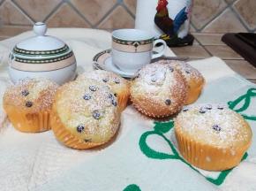 Muffin sofficissimi con gocce di cioccolato