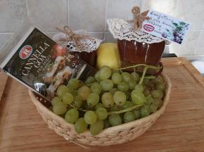 Confettura di uva bianca, zenzero e cannella