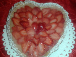 cuore alle fragole