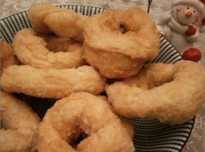 Ciambelle di patate fritte dolci o salate