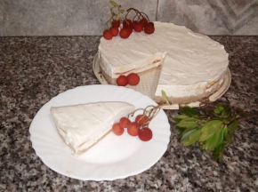 Cheesecake al corbezzolo e lime