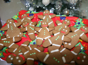 Gingerbread men (Omini di pan di zenzero)