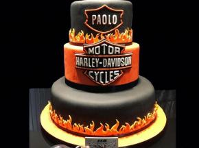 Torta Harley Davidson!