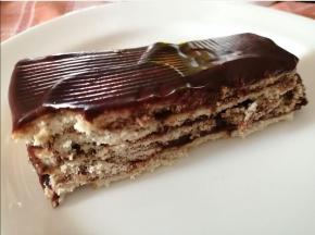 Mattonella di cioccolato e mandorla