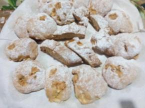 Biscotti morbidi rustici alle mele