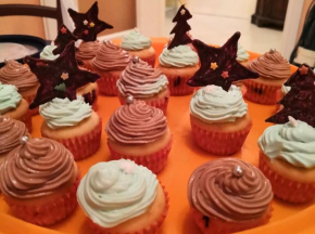 Cup cakes di Natale