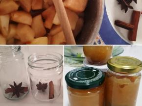 Confettura di mele cotogne, anice stellato e cannella