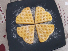 Waffle al forno