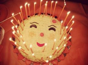 Torta....Sole per te!!