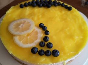 Cheesecake al Limone (senza formaggio)