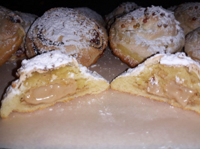 biscotti ripieni di crema nocciola