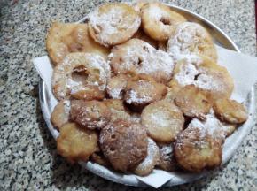 Frittelle di mele e banane della DOLCINA MONIQUEFELI