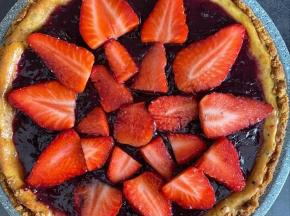 cheesecake fragole