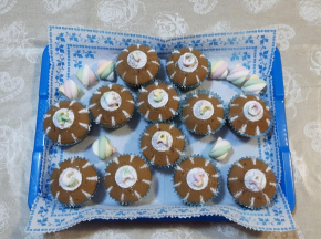 Muffin al caffè (ricetta della Dolcina MammaLu46)