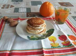 Pancake senza uova e burro