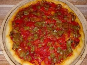 Pizza con i peperoni