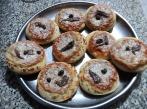 Pizzette tonde