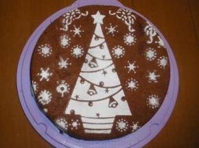torta al cioccolato con albumi