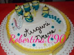 Torta compleanno minions senza glutine