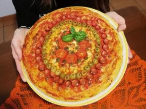 Pizza alta ARCOBALENO