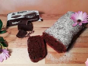 Plumcake albumi e cioccolato
