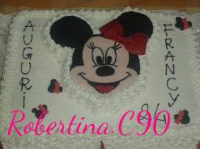 Torta Minnie Senza glutine