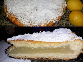 Crostata morbida al limone con Crema gel limone