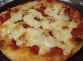 Pizza alta in teglia