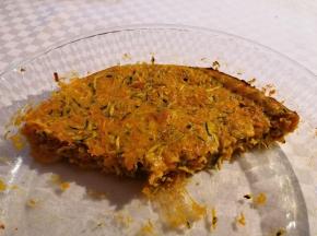 Torta salata tonno, zucchine e carote