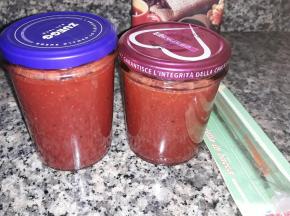 Confettura di frutta mista e Vaniglia