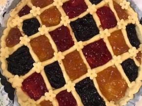 Crostata tricolore