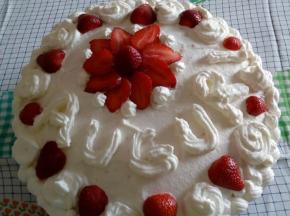 La torta del mio compleanno!