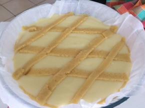 torta alla crema al limone