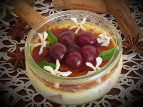 Crema Catalana ciliege e zenzero