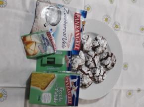 5 RICETTA CULINARIA DELLA COMMUNITY Biscotti crinkle al cioccolato e amaretti