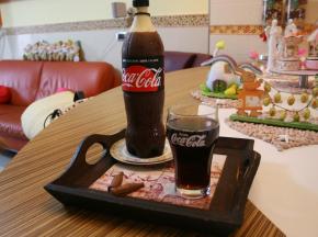 Bottiglia di Coca-Cola dolce