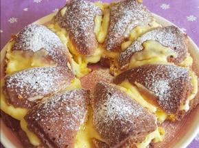 Torta soffice al limone 🍋 con crema pasticcera al limone 🍋