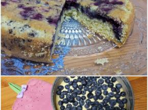 Bluberries cake