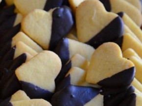 cuori vaniglia e cioccolato